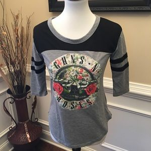 Bravado Guns N Roses Graphic T-shirt Sz S for sale